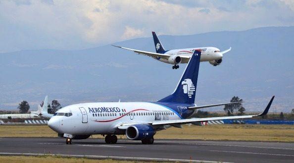 "Tráfico de Aeroméxico se ""eleva"" 5.5% en junio"
