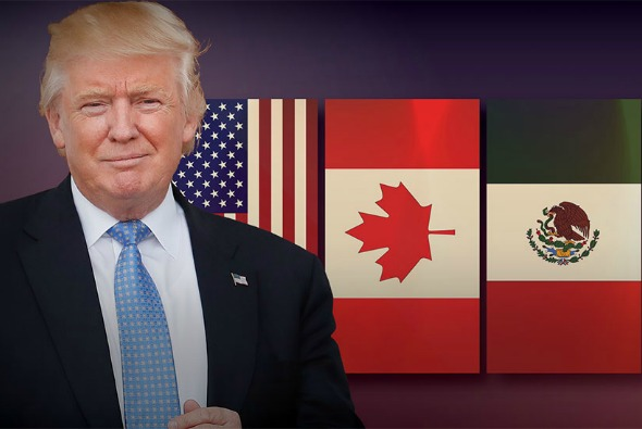 """Trump dice que la negociaciones del TLCAN van """"muy bien"""""""
