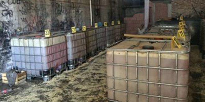 La PGR asegura 1,200 litros de hidrocarburo en Jalisco, robo de combustible