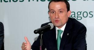 Mikel Arriola deja el IMSS este jueves