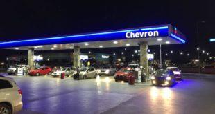 gasolineras, Chevron
