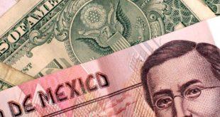 El peso sigue continúa teñido de rojo frente al dólar