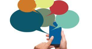 chat, mensajes, celular, chatbots