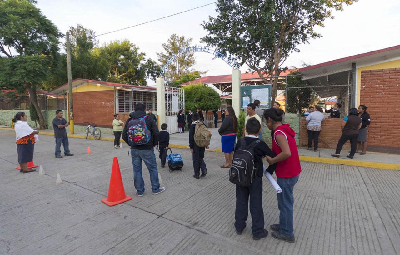 aulas, Campeche, Escuelas