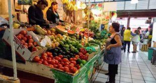 mercado publico, compras, verduras, despensa