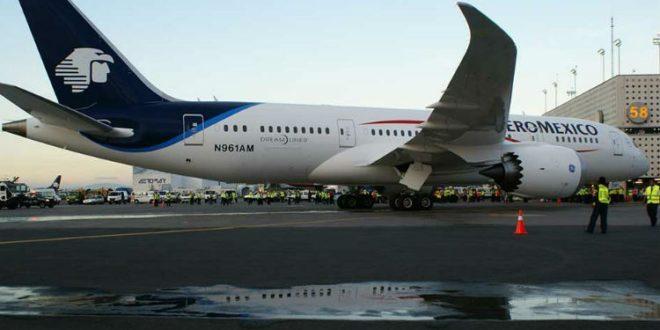 Aumentan 14.4% los ingresos de Aeroméxico en 3T
