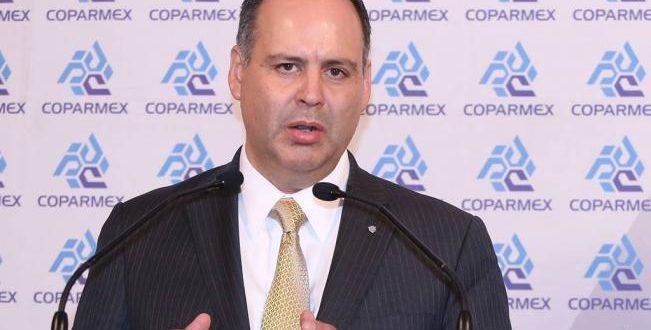 Coparmex promete ayudar a AMLO a combatir la corrupción, plan