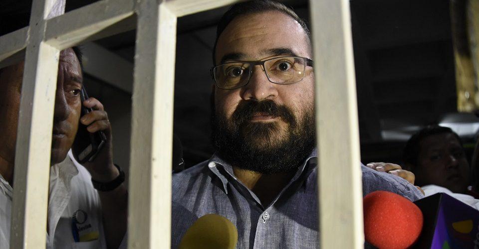 Javier Duarte se declara culpable de asociación delictuosa
