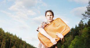 equipaje, viaje, turista, maleta