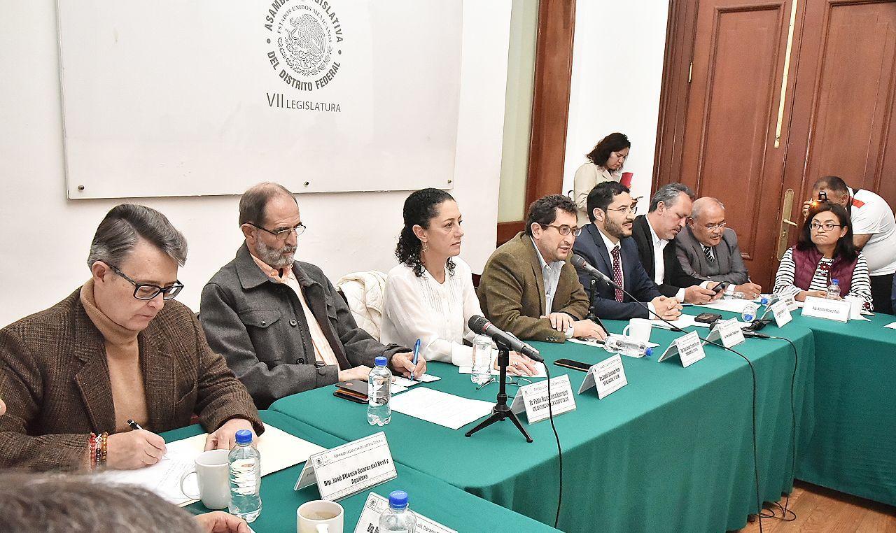 CONFERENCIA Principios fundamentales para la reconstrucción de la Ciudad de México de MORENA