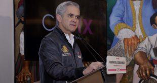 Miguel Ángel Mancera, Conferencia de prensa hace llamado para mejorar presupuesto de la CDMX