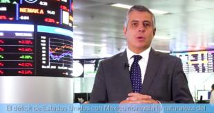 Déficit comercial con México