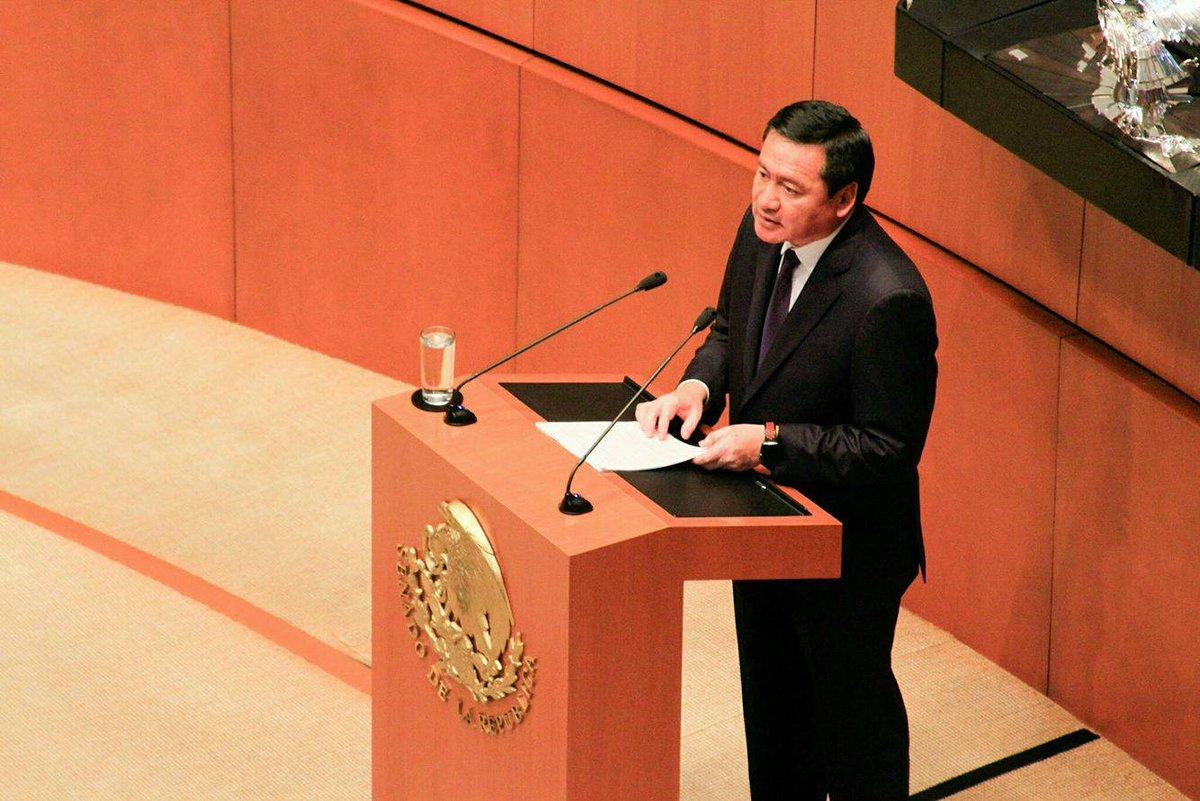 Admite Osorio Chong crisis de seguridad en México