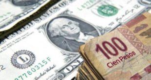El peso sigue en caída libre frente al dólar