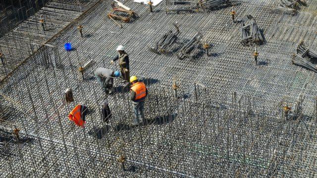 construcción, obra, edificio, ingenieros, trabajadores, actividad, actividad económica, IGAE