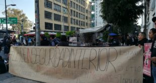 Protestan en el Senado contra Ley de Seguridad Interior
