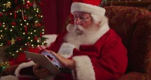 Dispositivos móviles han simplificado la tarea de Santa Claus