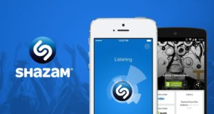 Negocia Apple la compra de Shazam