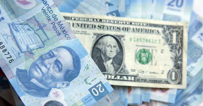 dólar, peso