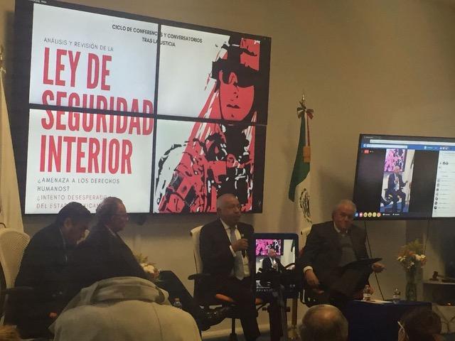 Ley de Seguridad Interior atenta contra los derechos humanos: Morales Lechuga