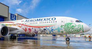 En diciembre Aeroméxico transportó a 1 millón 832,000 pasajeros