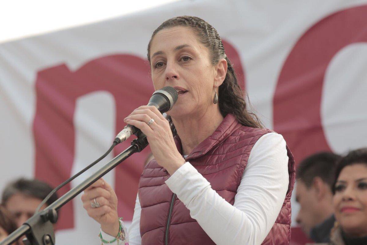Claudia Sheinbaum en primer lugar de encuestas en la Ciudad de México: Parametría