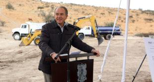 Arrancan construcción de presa en SLP tras una década de retraso