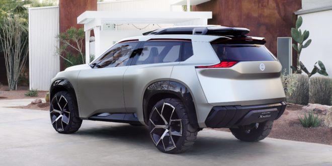Nissan Xmotion: el futuro de las SUV con 7 pantallas táctiles
