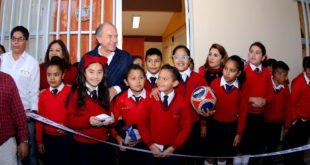 Se han destinado 442 mdp en infraestructura educativa en SLP: Carreras López