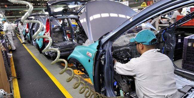 producción automotriz