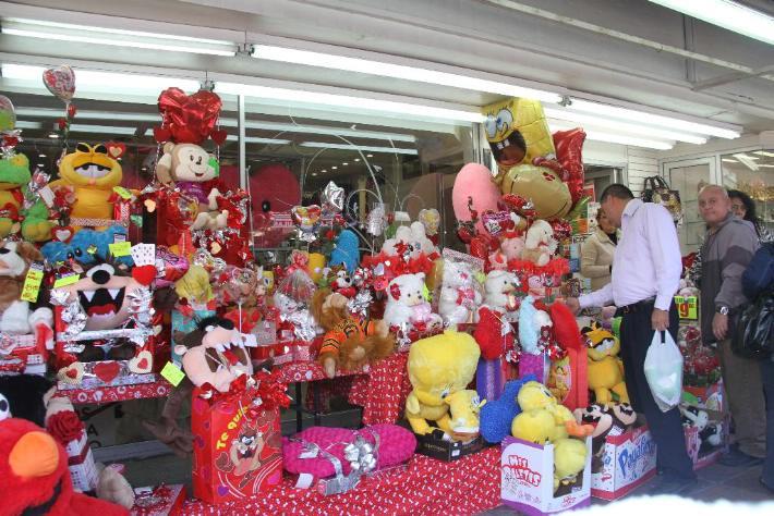 San Valentín, ventas, Día del Amor