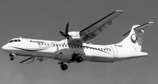 Accidente aéreo en Irán deja 66 muertos