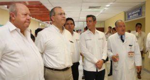 Reabren Hospital General de Pemex en Salina Cruz afectado por sismo de septiembre