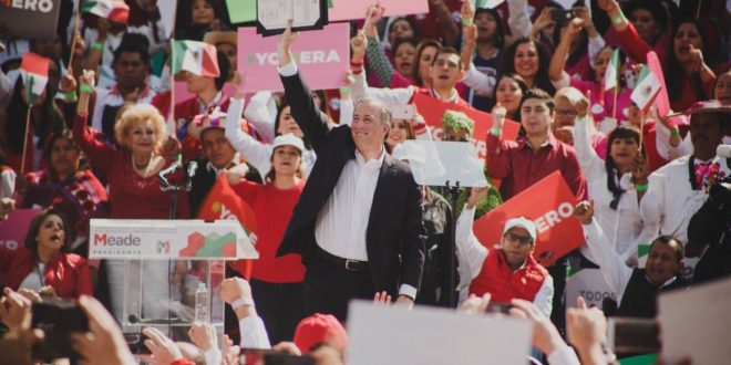 Quiero ser presidente para que México sea una potencia: Meade