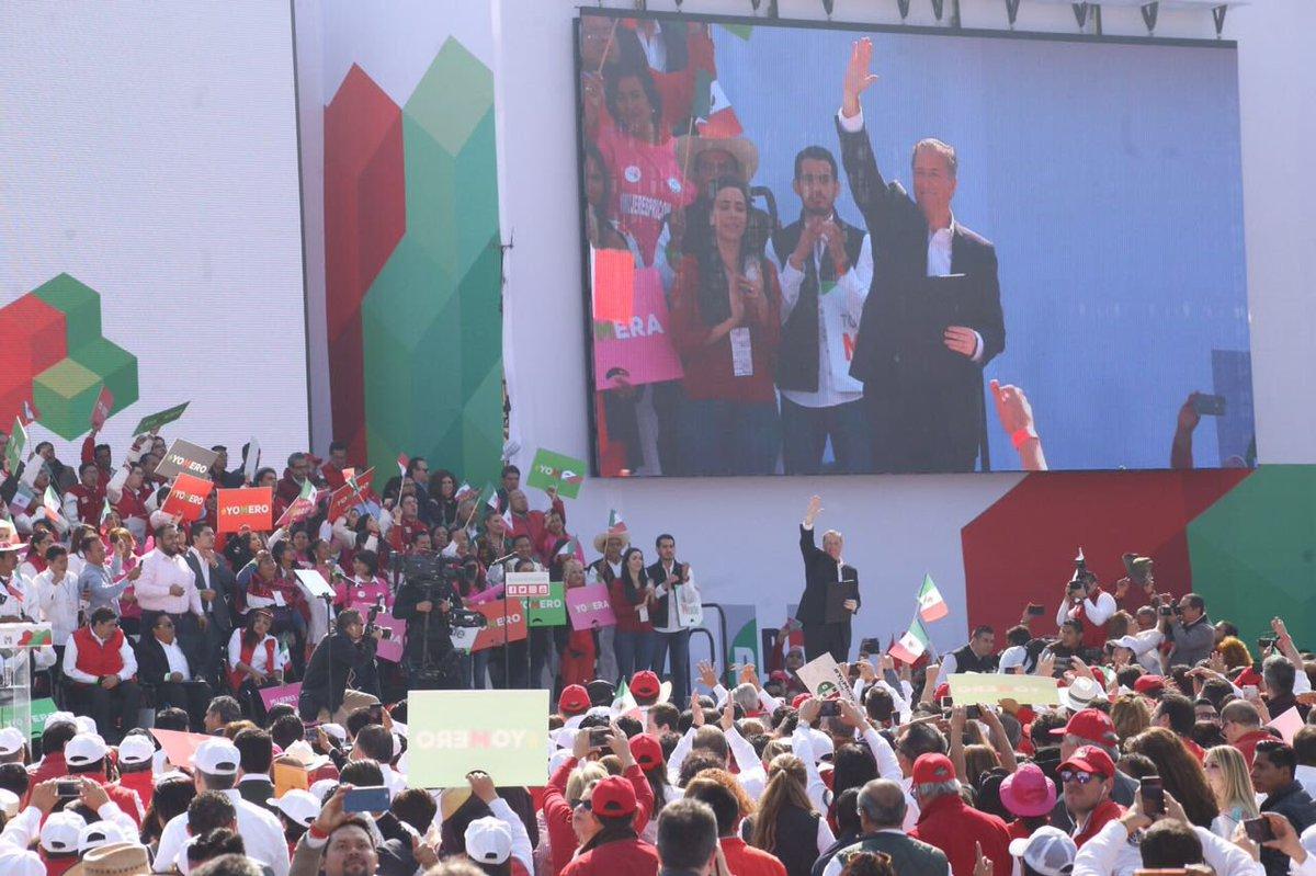 Meade, candidato del PRI a la Presidencia; lo hago por México, dice