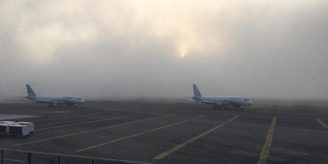 Tras una hora de suspensión por niebla, reanudan vuelos en el AICM