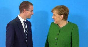 Se reúne Ricardo Anaya con la canciller alemana Angela Merkel