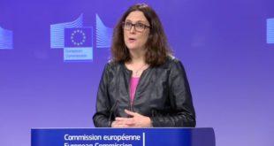 UE prepara aranceles para naranjas, maíz, ropa y motocicletas de EU