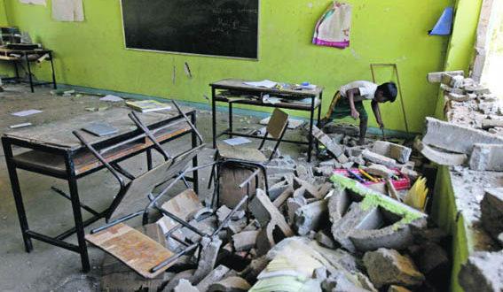 Reconstrucción de escuelas afectadas por sismo continuará en vacaciones