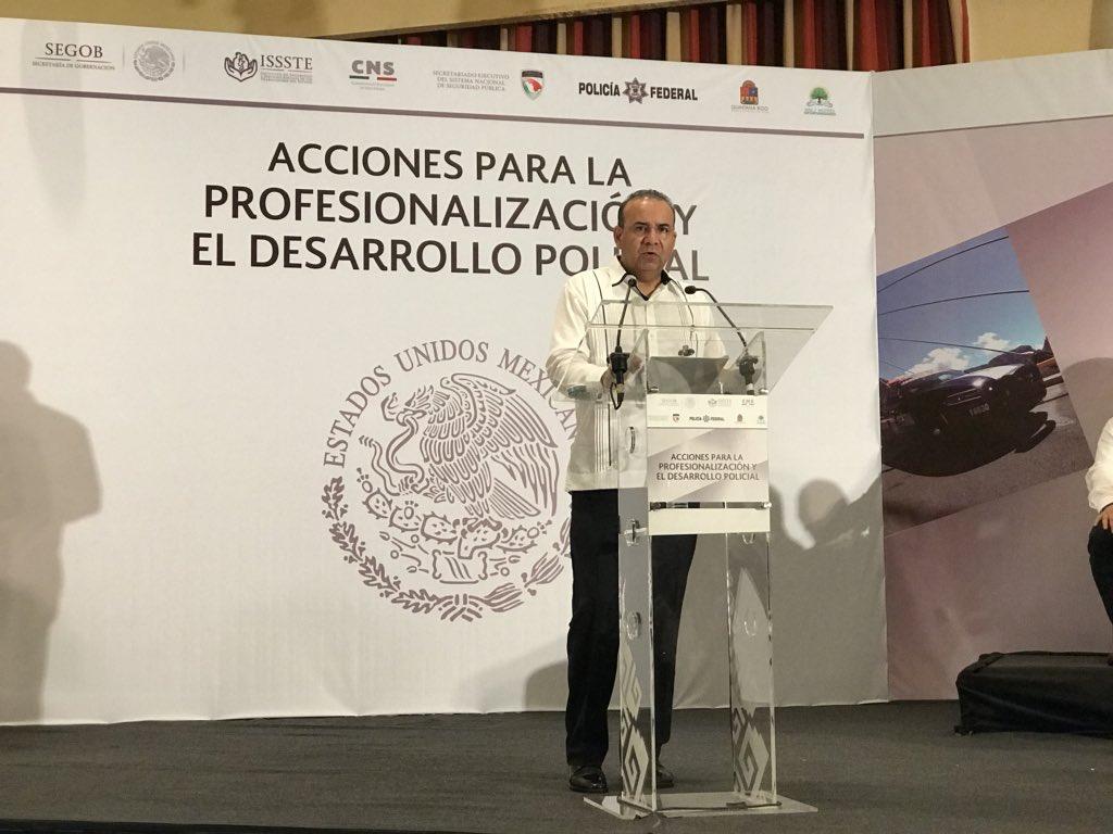 Segob e INE alistan protocolo de Seguridad para presidenciales