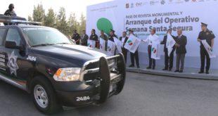 Arrancan operativo Semana Santa Segura en SLP