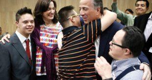 José Antonio Meade se suma a la lucha por la inclusión
