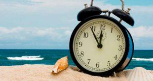 Horario de Verano iniciará el 1 de abril