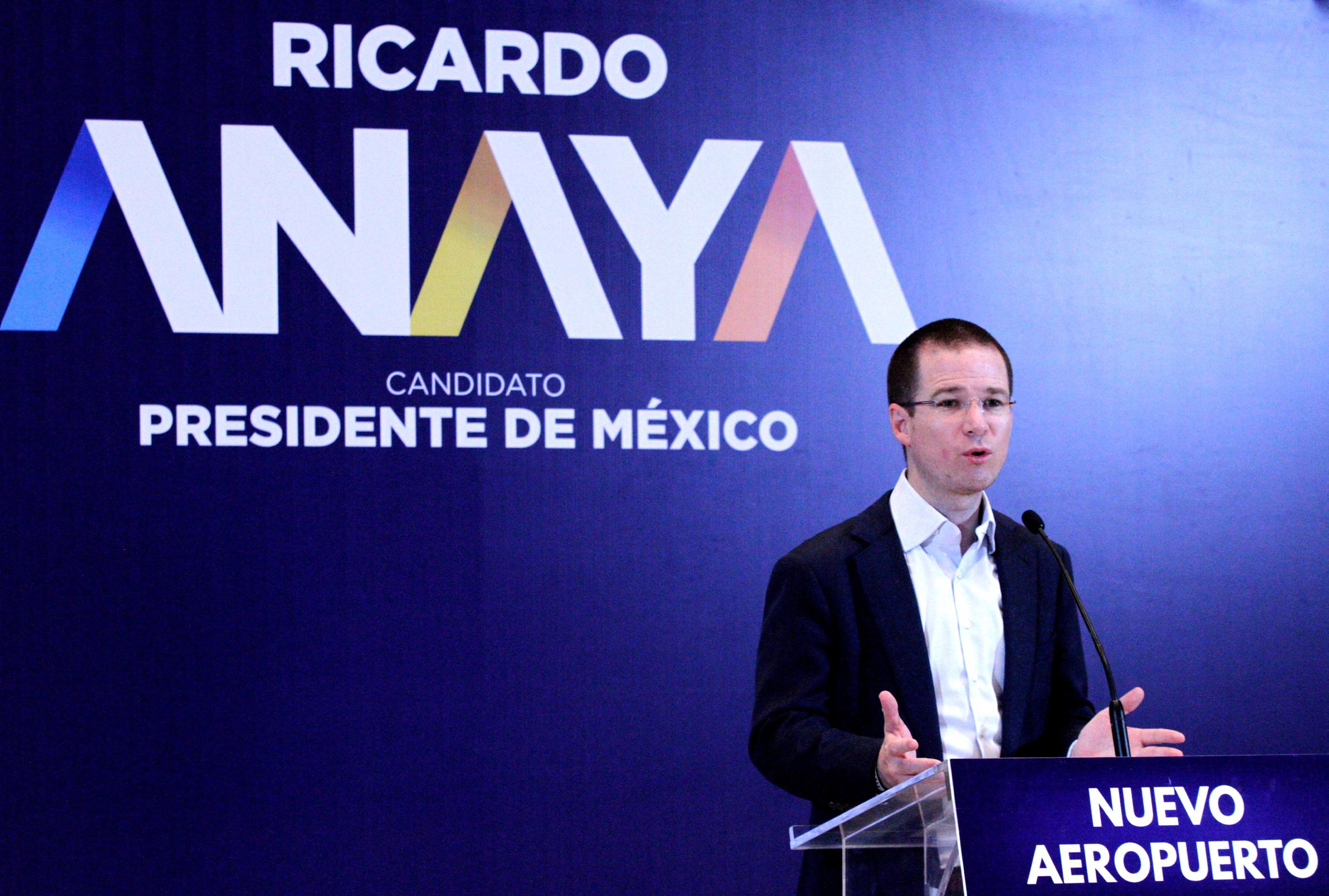Anaya secunda al INE en rechazo a la violencia en proceso electoral