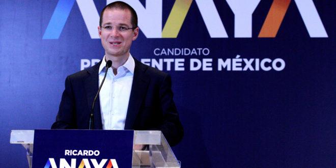 Anaya llama López Obrador a debatir 'cara a cara'