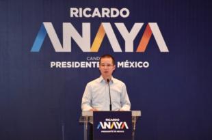 Llama Ricardo Anaya a cerrar filas ante amenazas de Trump