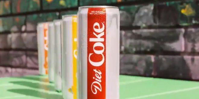 Diet Coke impulsa ventas de Coca Cola
