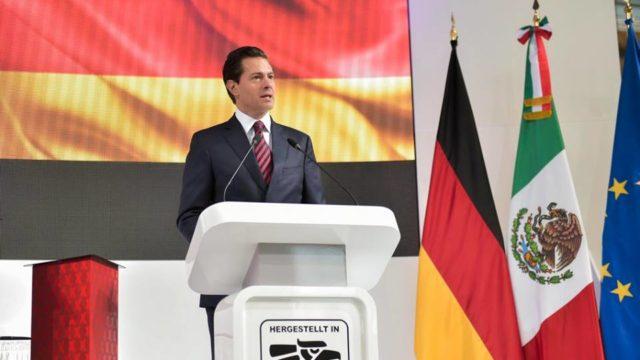 México está viviendo una elección competida, asegura Peña en Alemania