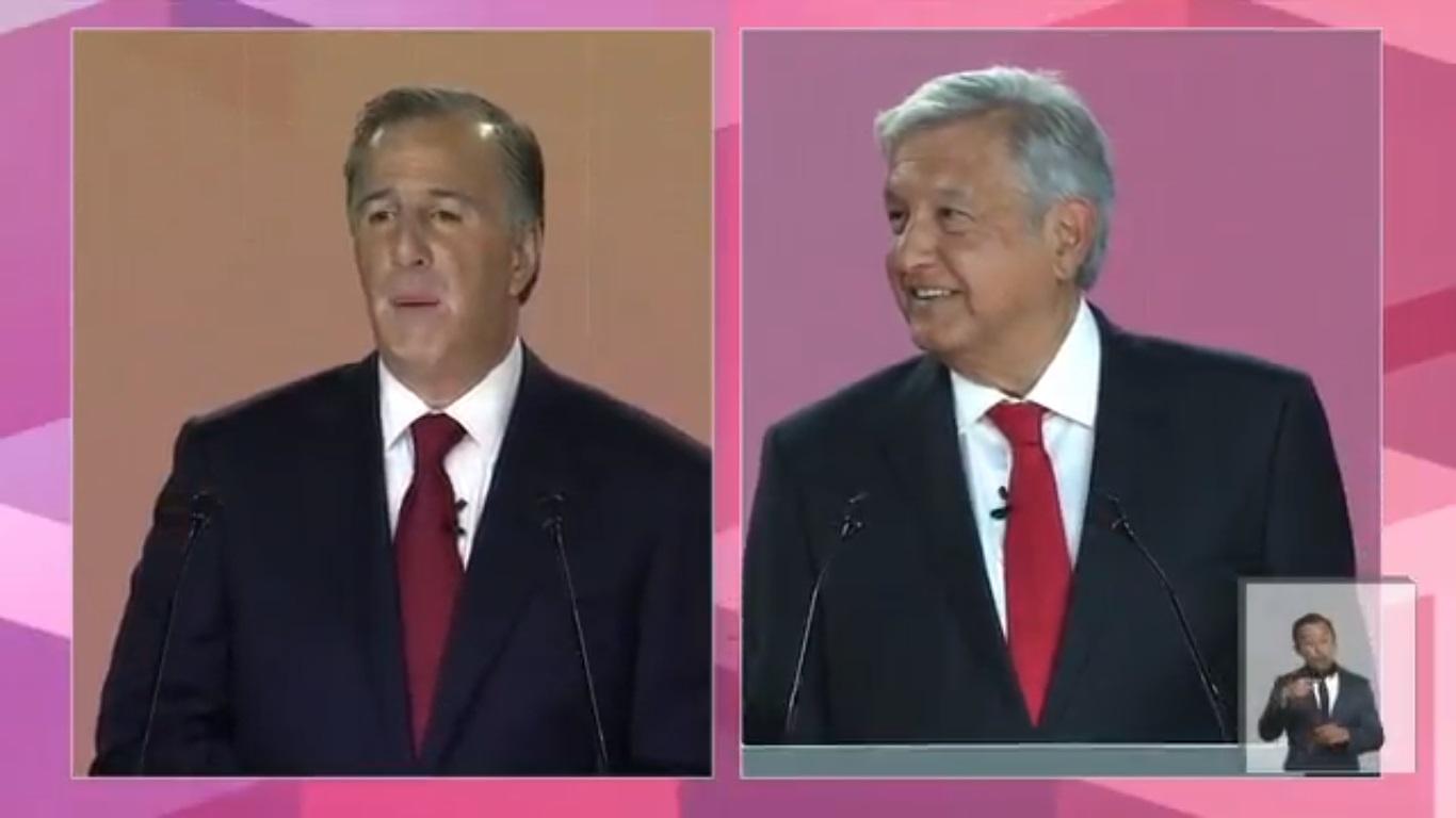 Andrés Manuel, eres un títere de los criminales: Meade