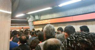 ¿Llegaste tarde a tu trabajo por culpa del Metro? Esto ocurrió